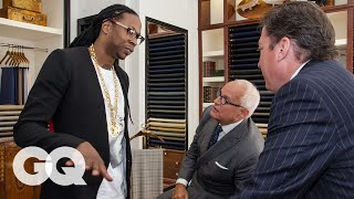 Download 2 Chainz Checks Out a Suit That Costs More Than Your Car | Most Expensivest Sh*t | GQ Video