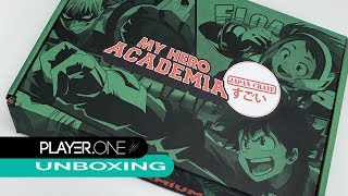 Download Player.One Unboxes My Hero Academia Japan Crate Box Video