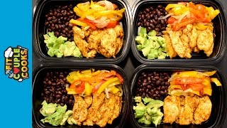 Download How to Meal Prep - Ep. 19 - CHICKEN FAJITAS Video