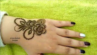 Download Latest Unique and Stylish Mehndi Design for Hand || Arham Mehndi Designs Video
