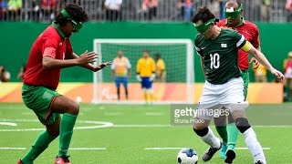 Download Day 2 morning | Football 5-a-side highlights | Rio 2016 Paralympic Games Video