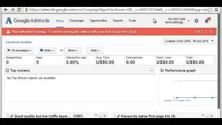 Download Granting Access to a Google Adwords Manager Account Video