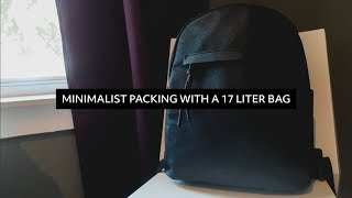 Download Minimalist Packing with a 17 Liter Backpack   6 Days in NYC Video