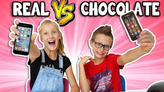 Download CHOCOLATE vs REAL 2!!!!!! Video