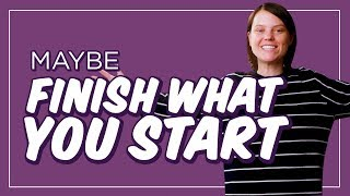 Download How to Actually Finish Something, for Once | CH Shorts Video