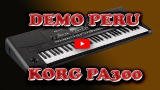 Download KORG PA 300 CUMBIA PERUANA OMAR NAVARRO / ORQ. LATIN MAR Video