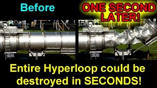 Download Entire Hyperloop could be destroyed in SECONDS! Video