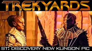 Download ST:Discovery Klingon L'Rell SDCC Picture - Trekyards Analysis Video