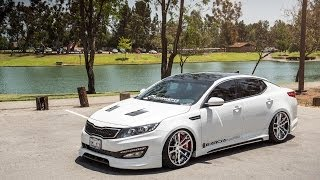 Download 2013 Kia Optima on 20″ Avant Garde F431 / AG Wheels Video