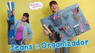 Download Chuladas Crativas :: Organizador con Jeans :: Sammily Manualidades Video