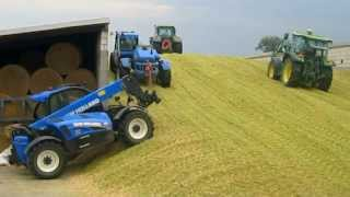 Download Kukurydza 2013-kiszonka na podlasiu! 3xClaas, 5xNew Holland, 4xJohn Deere. Maize Silage! FULL HD! Video