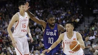 Download China @ USA July 26 2016 Olympic Basketball Exhibition FULL GAME HD 720p English Video