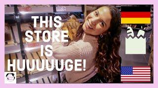 Download AMERICAN goes to GERMAN GROCERY STORE   EDEKA Vlog Video