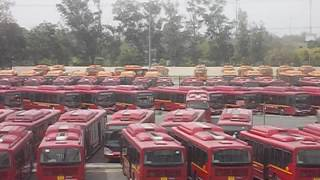 Download Largest Bus Depot in Asia was millenium Depot of DTC- Delhi Transport Corporation Video