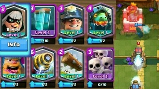 Download Clash Royal bandit and 5 legendary cards!!! Tamil Video