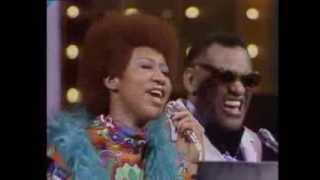 Download Ray Charles & w/Aretha Franklin - Georgia On My Mind & It Takes Two to Tango Video