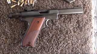 Download Ruger Mark 1 22LR Semii-Auto Pistol Video