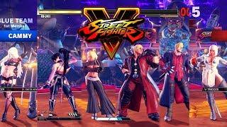 Download Street Fighter V AE Cammy/Ibuki/Kolin vs Devil May Cry Team PC Mod Video