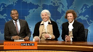 Download Weekend Update: Washington and Jefferson on Being Compared to Robert E. Lee - SNL Video