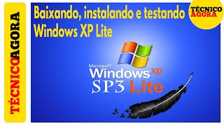 Download Baixando, instalando e testando o Windows XP mais leve do mundo. Video