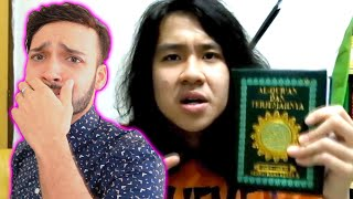 Download YOUTUBER CURSES ISLAM GETS ARRESTED! Video