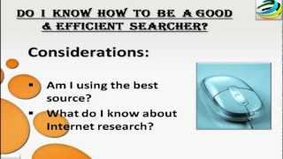 Download Conducting Online Research the practice of using the Internet Video