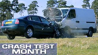Download Crash Test Month: Van vs. Car Video