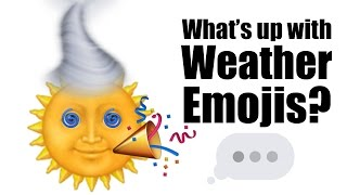 Download What's up with weather emojis? Video