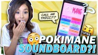 Download POKI REACTS TO POKIMANE SOUNDBOARD?! Fortnite Victory Ft. Cizzorz! Video