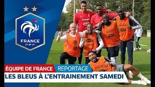 Download Les images de la séance de vendredi, Equipe de France I FFF 2018 Video