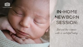 Download Newborn Photography Session: Behind the Scenes #1 - LITTLES & LENSES Video