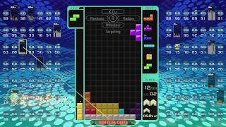Download TOP 1 - TETRIS 99 Nintendo Switch BATTLE ROYALE Video