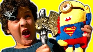 Download Pirate Axe Flamethrower Vs John Cena Super Minion Lightning McQueen Angry Birds Video