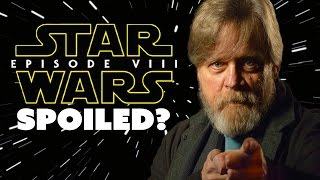 Download Mark Hamill SPOILS Star Wars Episode VIII? Not so fast. - The Know Video
