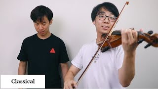 Download 23 Different Musical Genres on the Violin Video