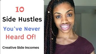 Download 10 Side Hustles You'd NEVER Thought Of - No Experience Required:-) Video