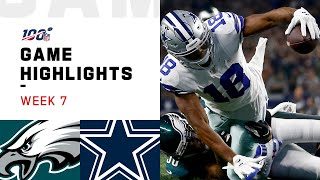 Download Eagles vs. Cowboys Week 7 Highlights | NFL 2019 Video