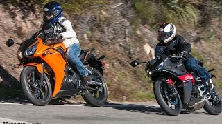 Download 2017 Honda CBR300R vs. Hyosung GD250R Video