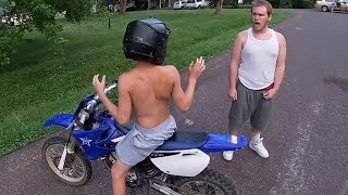 Download STUPID, CRAZY & ANGRY PEOPLE VS BIKERS [Ep.#725] Video