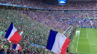 Download Incredible Irish fans drown out stadium with Fields of Athenry at Ireland v France, Lyon, Euros 2016 Video