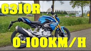 Download 2017 BMW G 310 R 0-100 KMH 0-60 MPH FROM IDLE Video