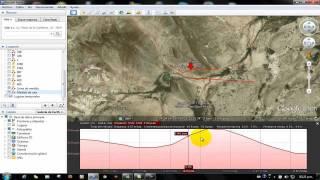 Download Como calcular el perfil de elevacion en google earth y sacar distancias Video