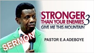 Download Pastor E.A Adeboye Sermon @ RCCG March 2018 HOLY GHOST SERVICE Video