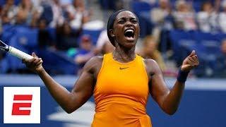 Download 2018 US Open highlights: Sloane Stephens beats Victoria Azarenka in straight sets | ESPN Video