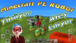 Download Örümcek Çocuk Minecraft PE Ateş Eden Yürüyen Robot Yapımı Örümcek Çocuğun Kanalı Video