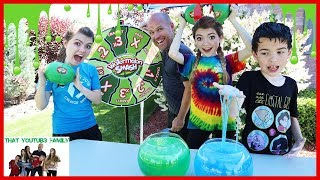 Download Watermelon Smash With SLIME! / That YouTub3 Family Video