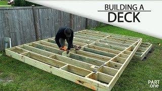Download Building A Ground Level DECK - (Part 1) Video