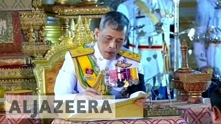 Download Thai king endorses military-backed constitution Video