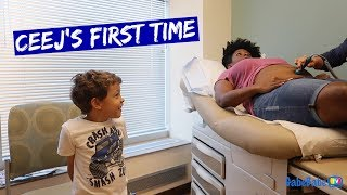 Download HEARING BABY SISTER'S HEARTBEAT! Video