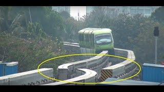 Download MUMBAI MONORAIL - Dont Miss The End & See Something called TURNOUT, Never Seen Before Video